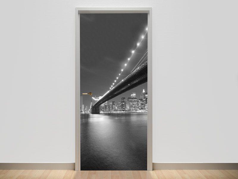 טפט מעוצב לדלת | טפט לדלת | ניו יורק