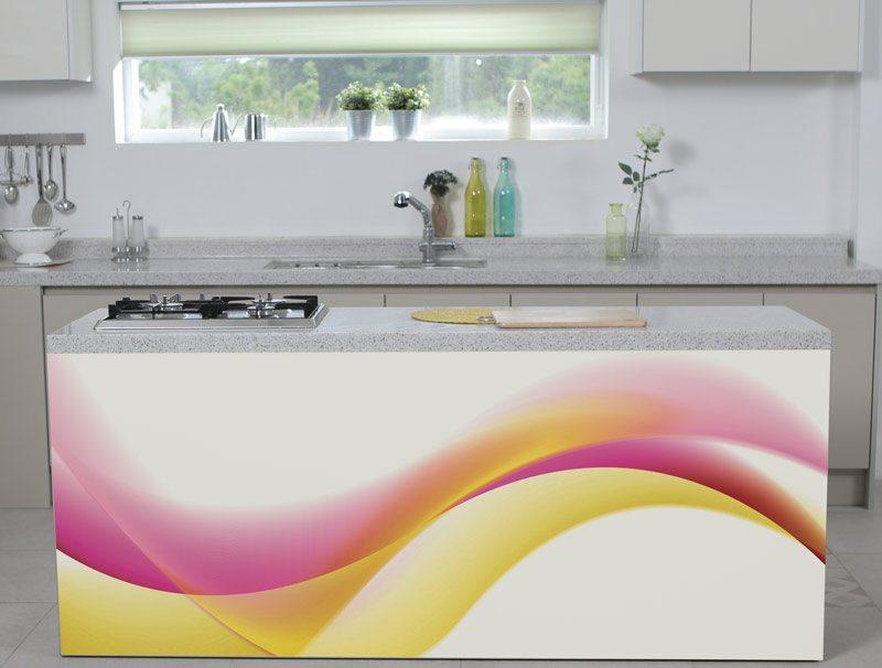 טפט למטבח | טפט רהיטים | גל ורוד