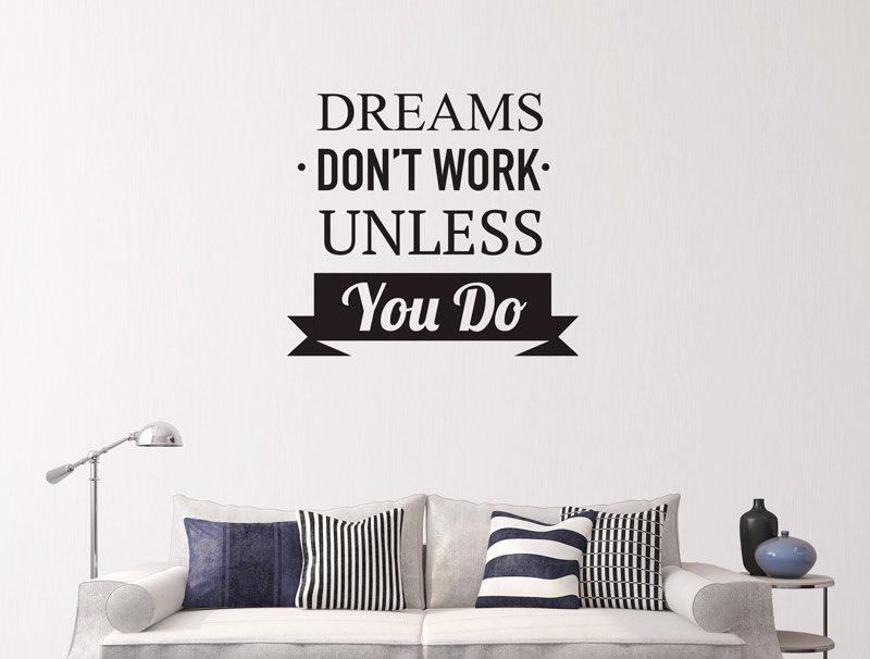 מדבקת קיר | חלומות