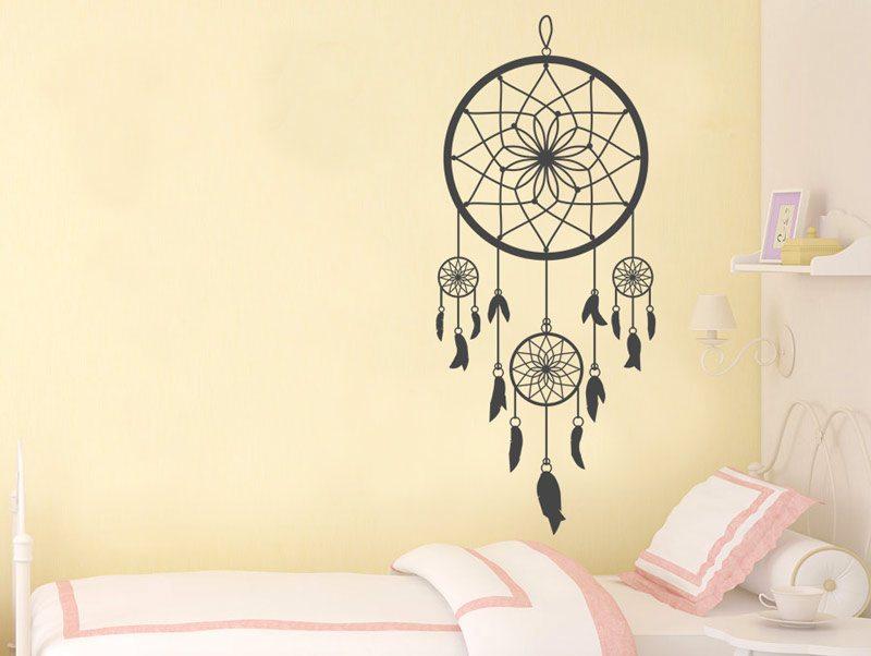 מדבקת קיר לוכד חלומות לחדרי שינה