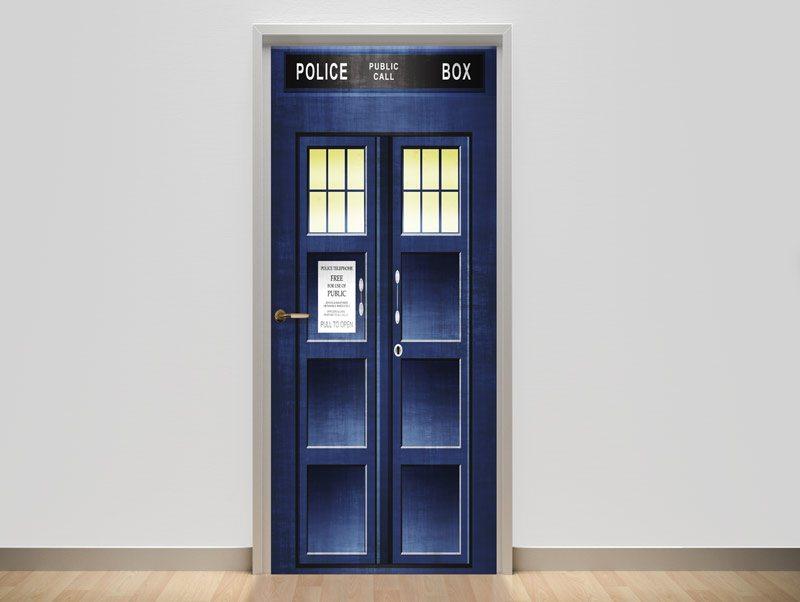 טפט | טפט לדלת | police box